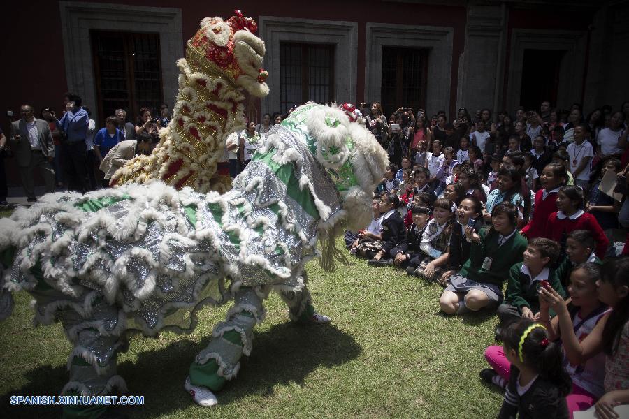 """Inauguran la Segunda Muestra de Arte Infantil """"China en mi Imaginación"""" en el Museo Nacional de las Culturas"""