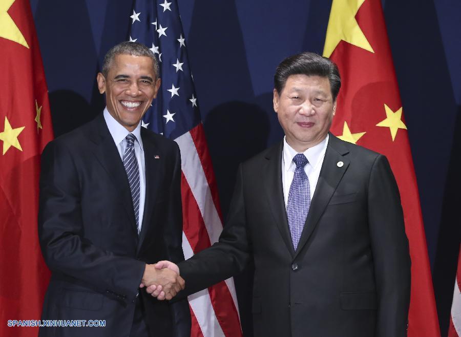 Xi se reúne con Obama antes de inicio cumbre climática ONU