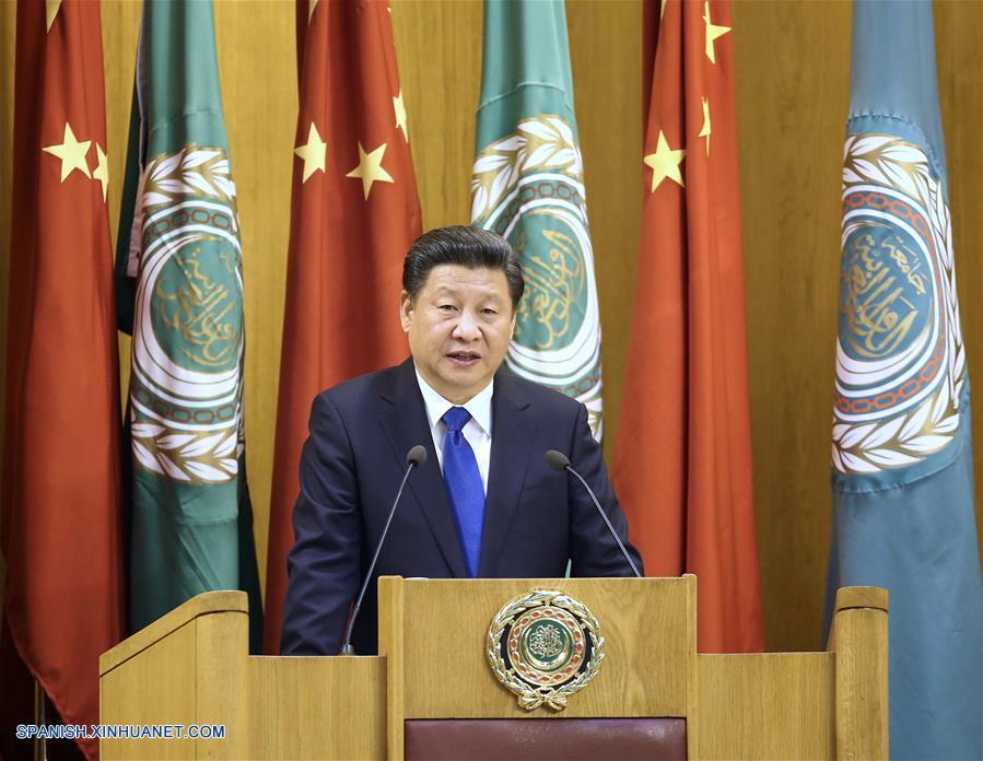 Presidente chino insta a países de Medio Oriente a resolver diferencias con diálogo