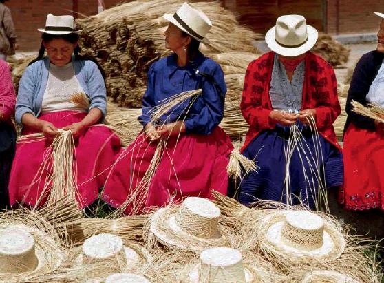 Ecuador, tierra del más fino sombrero artesanal