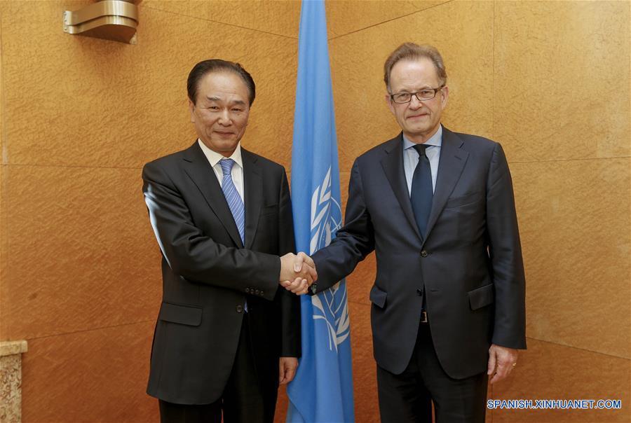 Presidente de Xinhua promete fortalecer cooperación con agencias de la ONU