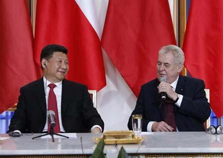 RESUMEN: China y República Checa profundizarán cooperación mediante asociación estratégica