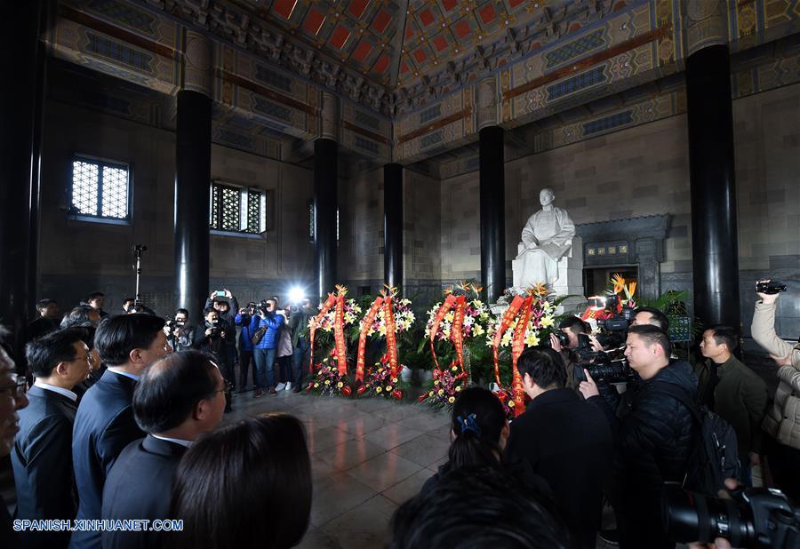 China conmemora 91º aniversario de muerte de Sun Yat-sen