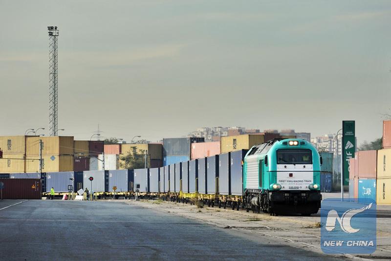 Sistema de transporte ferroviario Chongqing-Europa impulsa el comercio sino-europeo