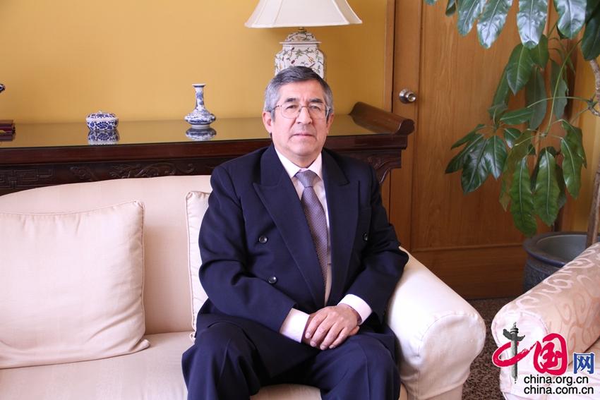 Embajador Capuñay de Perú: La relación con China es cada vez más estrecha
