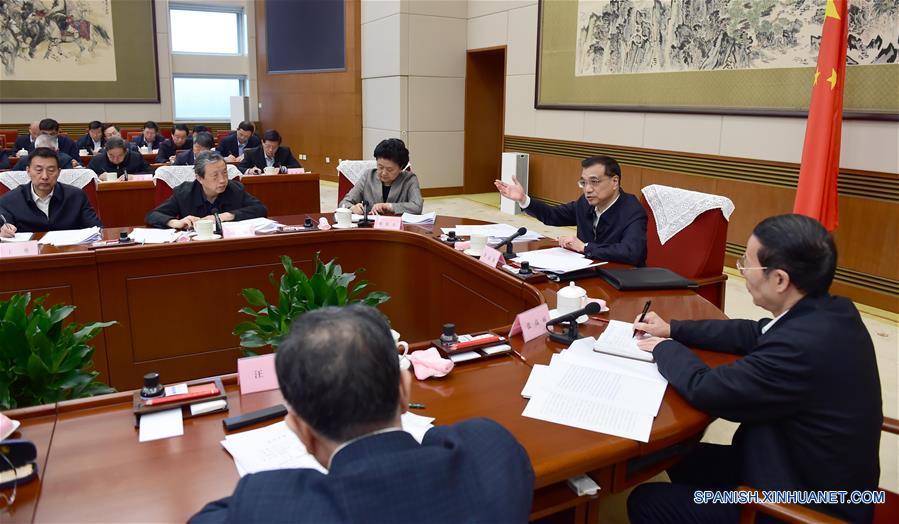 Primer ministro chino pide a gobiernos locales impulsar reforma