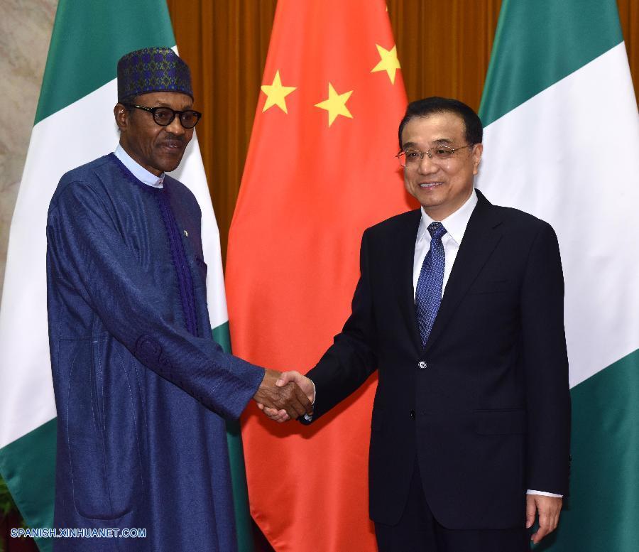 China y Nigeria pueden unirse para revivir economía mundial: Li