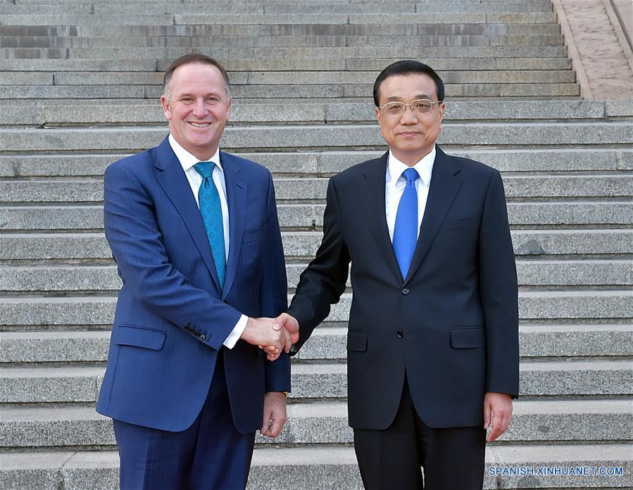 China y Nueva Zelanda prometen promover actualización de TLC