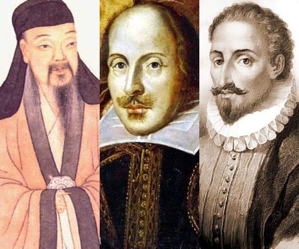 Madrid rinde homenaje a los autores Tang Xianzu, Shakespeare y Cervantes