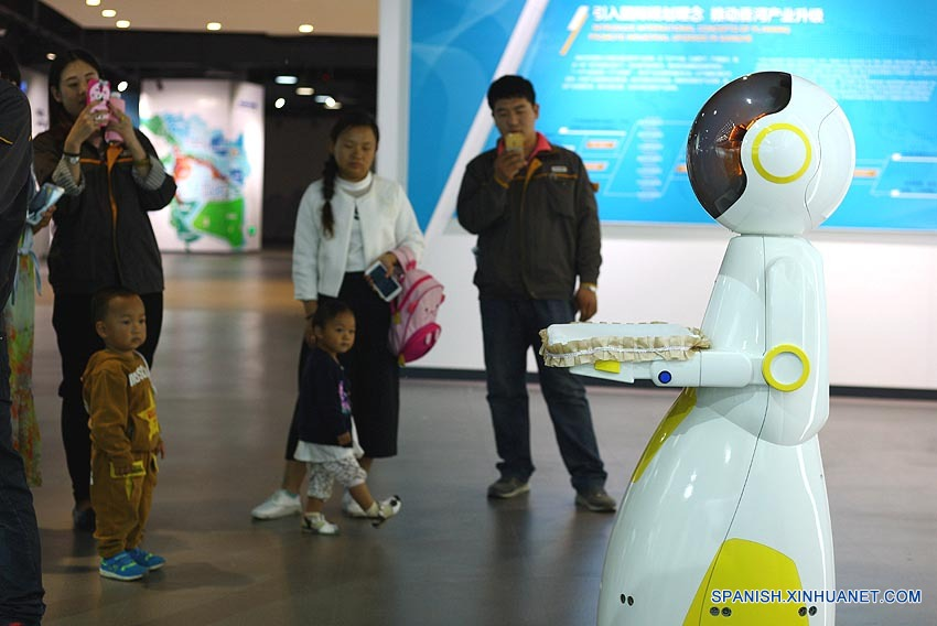 Robots de servicio encabezarán auge de inteligencia artificial de China