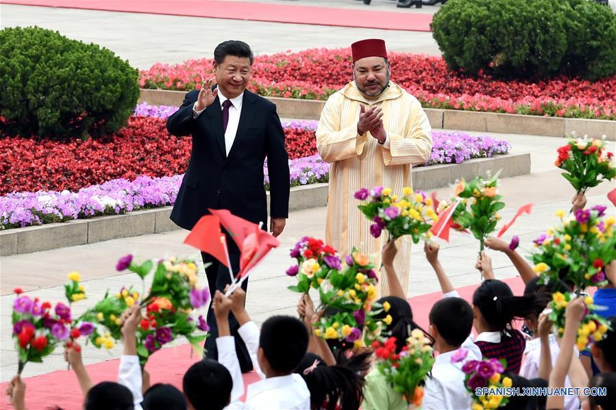 China y Marruecos establecen asociación estratégica