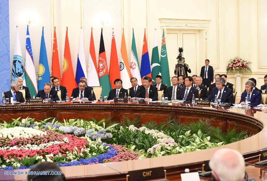 Xi Jinping presentó propuesta para consolidar y profundizar cooperación de OCS