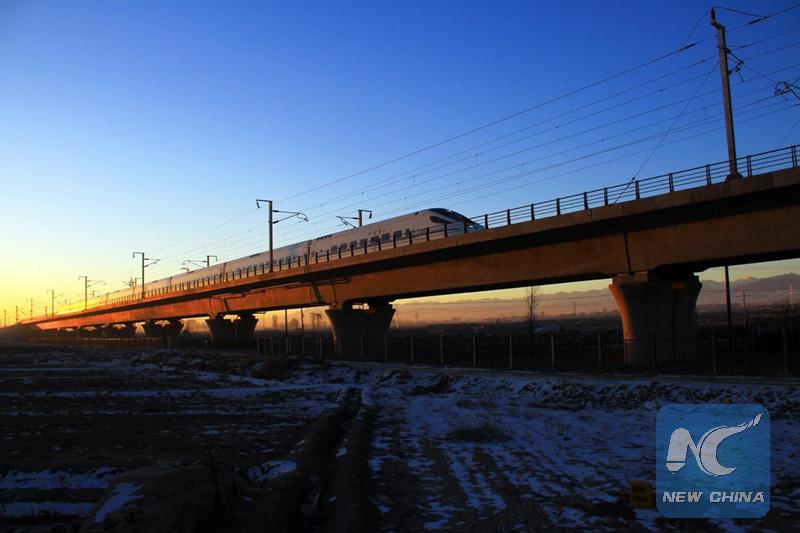 Con Sun Shouping, los trenes chinos cruzaron el océano