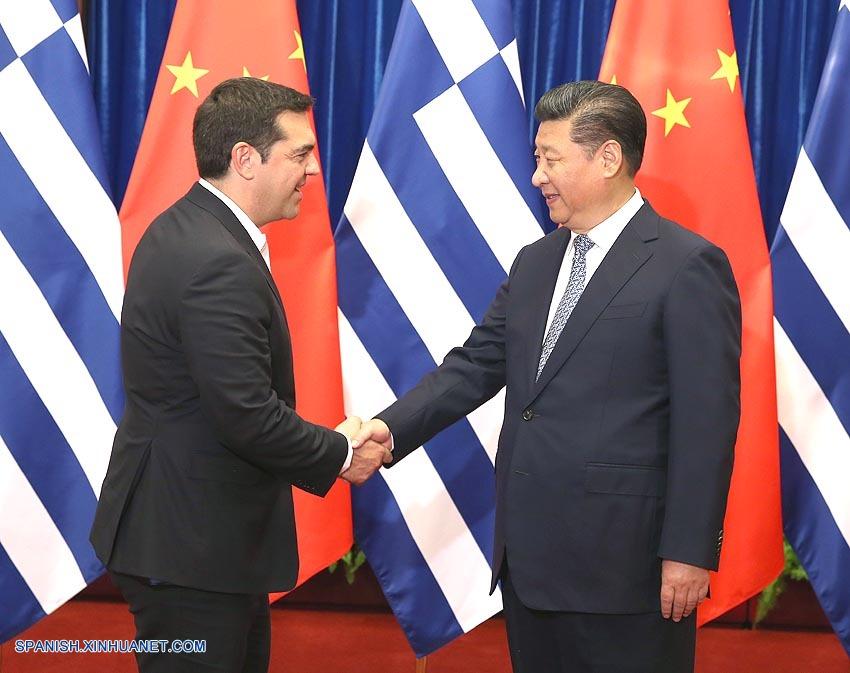 China y Grecia buscan mayor cooperación en Franja y Ruta mediante puerto de El Pireo