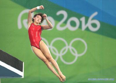 rio atleta ás joven