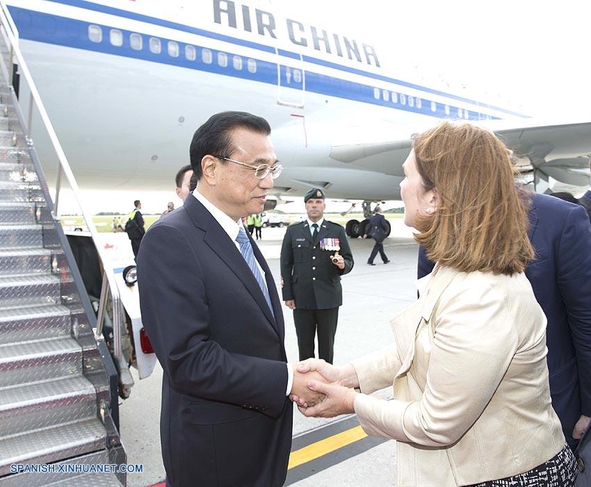 PM de China llega a Ottawa para iniciar visita oficial a Canadá