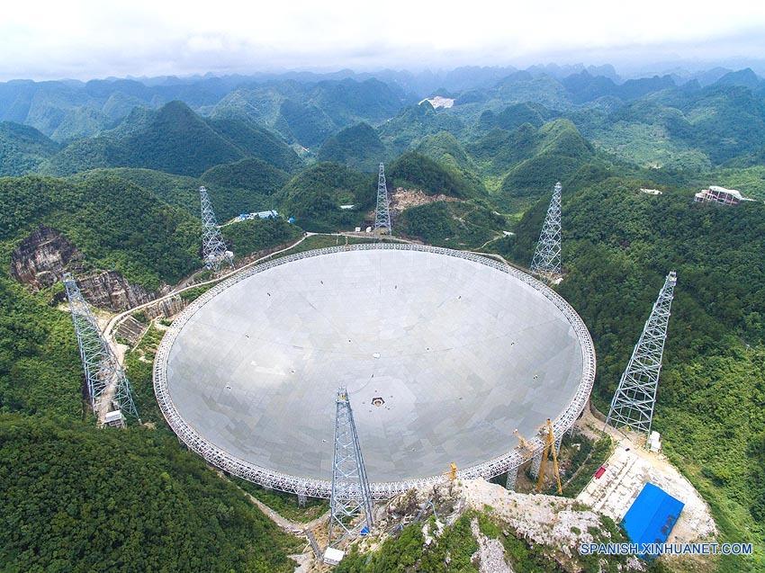 Análisis de Xinhua: Entra en operación en China mayor radiotelescopio del mundo