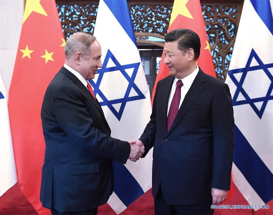 China e Israel anuncian asociación integral innovadora