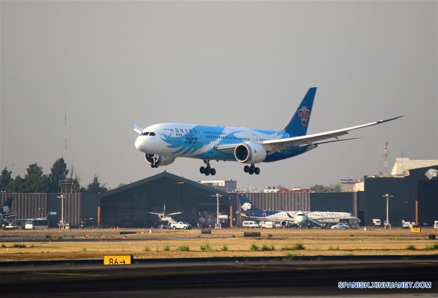 China Southern inaugura vuelo entre Guangzhou y Ciudad de México