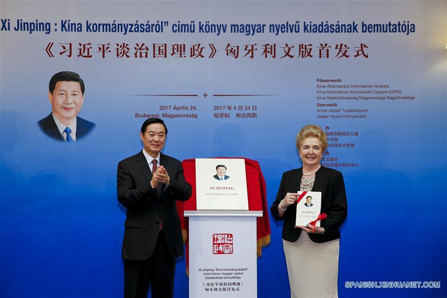 """Presentación de edición en húngaro de libro """"Xi Jinping: La Gobernación y Administración de China"""" en Hungría"""