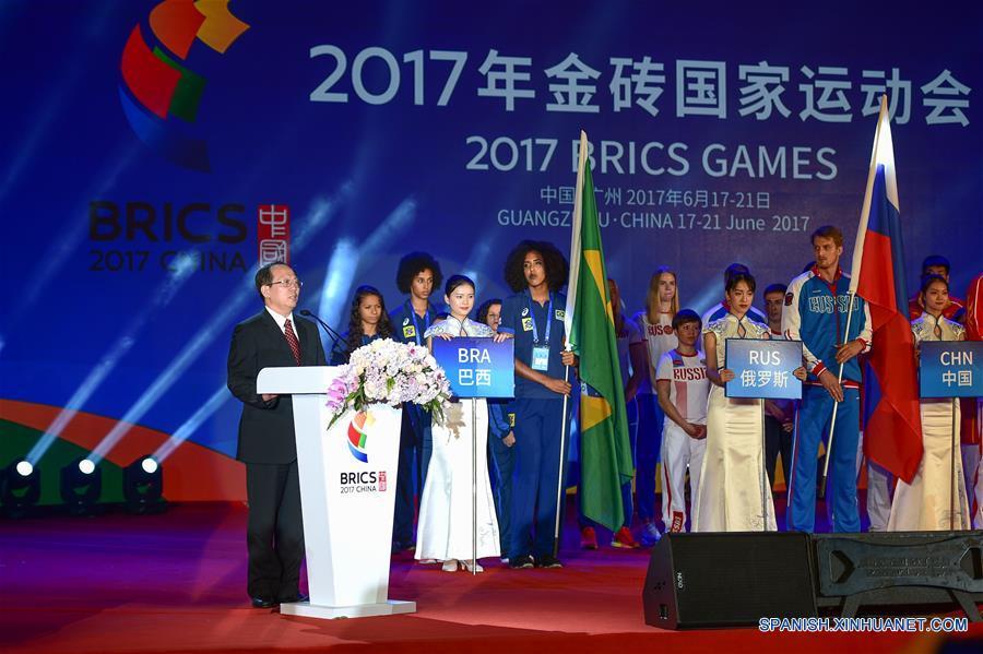 Presidente Xi felicita a Juegos BRICS