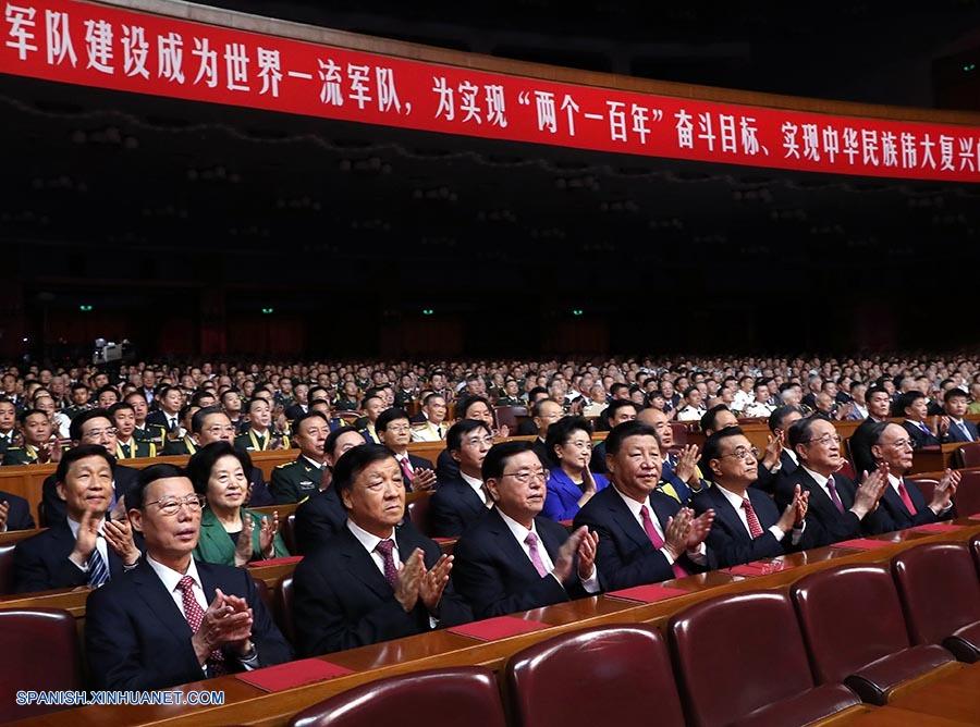 China realiza gran celebración por 90°aniversario de EPL