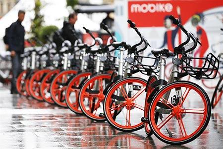 Plataforma china de uso compartido de bicicletas lanza servicio en Londres