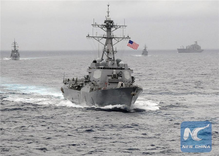 China protesta por buque de EEUU que navega cerca de arrecife de islas Nansha