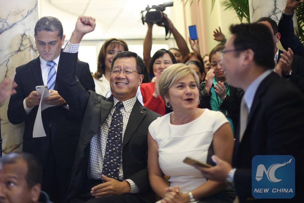 Gobierno chino otorga beneplácito a embajador de Panamá
