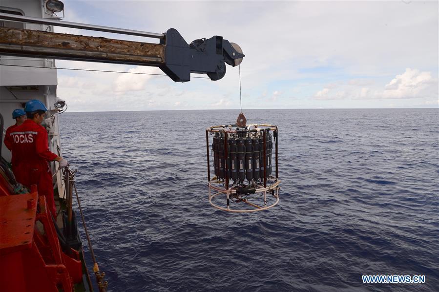 Buque chino de investigación recopila datos de aguas profundas de primera mano
