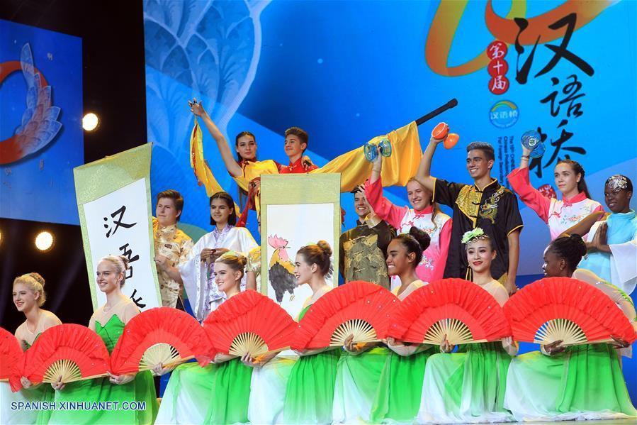Equipo de EEUU gana competencia de idioma chino
