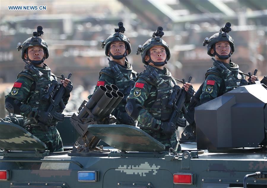 Enfoque de China: EPL construye Ejército fuerte en nueva época