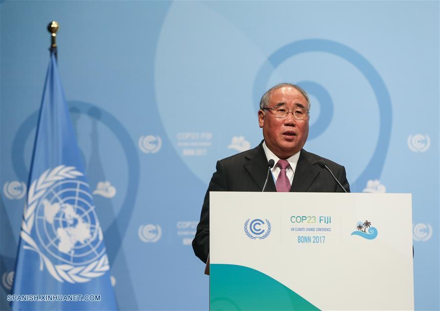 China está lista para cumplir plenamente promesas climáticas: Enviado