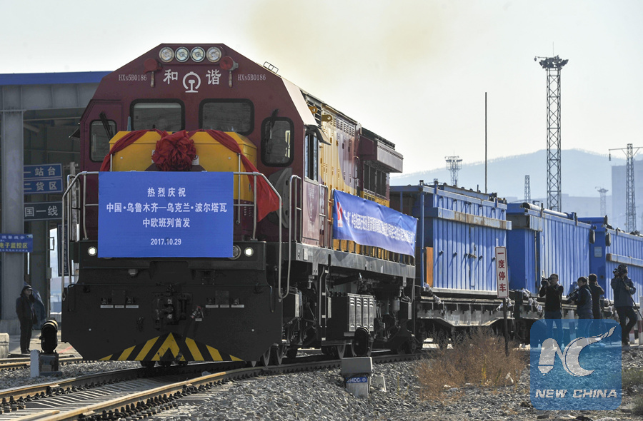 Trenes China-Europa conectan a Xinjiang con el mundo