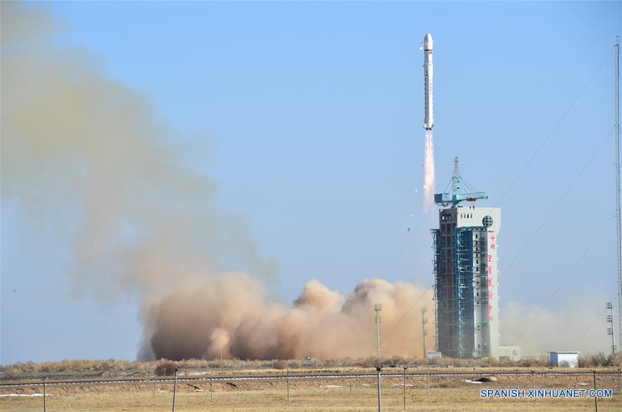 China lanza satélite de exploración terrestre