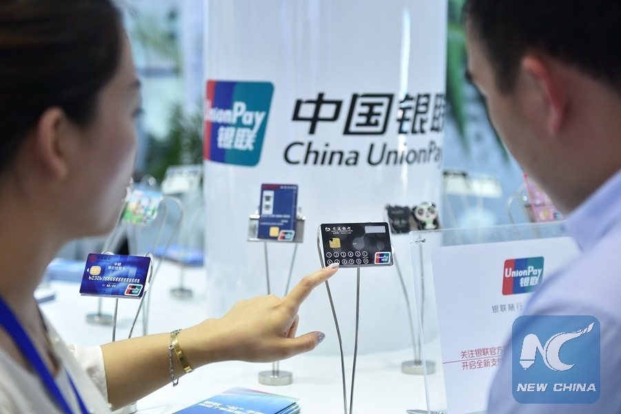 China UnionPay registra aumento de uso global de tarjetas