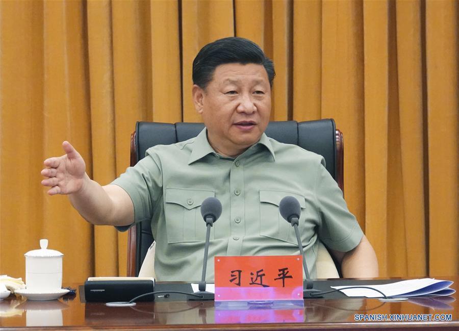 Xi Jinping subraya construcción de fuerza marítima de élite durante una inspección a la Armada