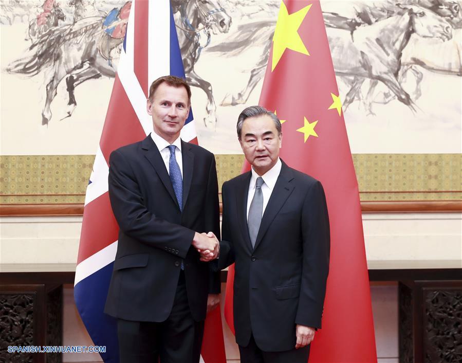 China y Reino Unido tienen diálogo estratégico y acuerdan mantener conjuntamente multilateralismo