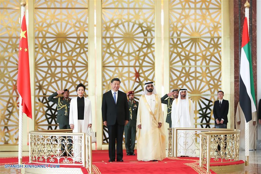 China y EAU acuerdan elevar relaciones bilaterales a asociación estratégica integral