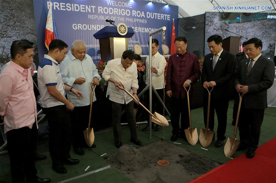 Construirán dos puentes en capital filipina financiados por China
