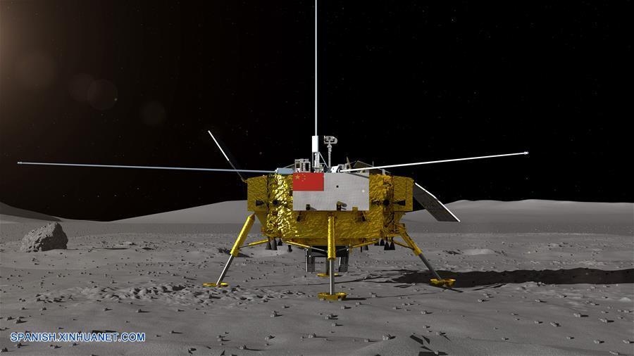 China presenta explorador de Chang'e-4 para investigar cara oculta de Luna