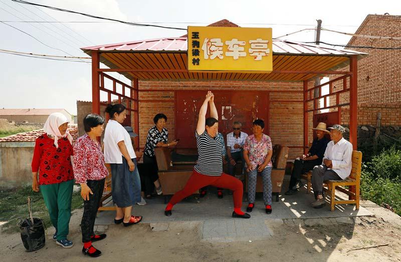 """""""Yoga de Yugouliang"""": una nueva manera de mantenerse en forma"""