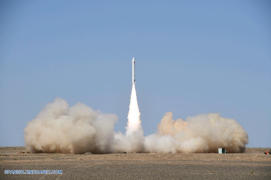 Compañía privada china lanza cohete suborbital