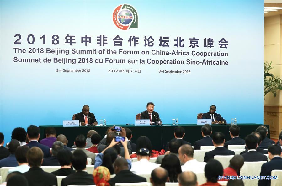 Xi se reúne con la prensa al concluir Cumbre de Beijing del FOCAC