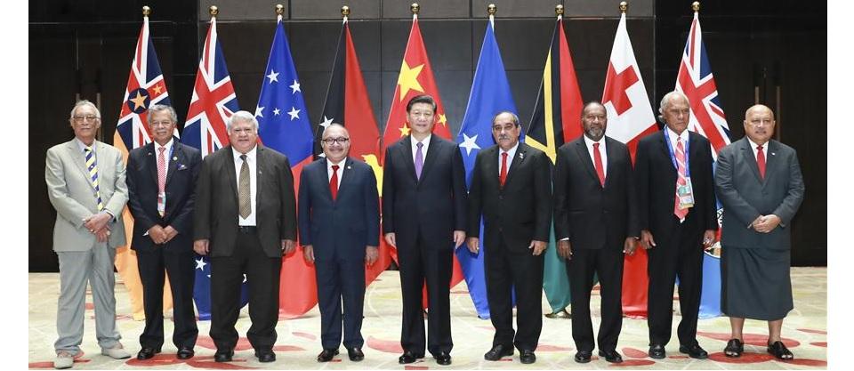 China y países insulares del Pacífico elevan lazos a una asociación estratégica integral
