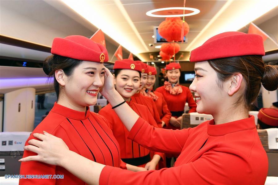 Ferrocarril de alta velocidad entre dos ciudades chinas tendrá cobertura de redes 5G
