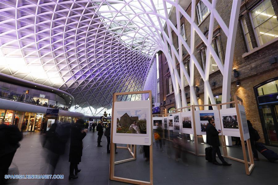 Inauguran exposición fotográfica en Londres para conmemorar 40 años de reforma y apertura de China
