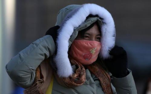 China renueva alerta azul por ola de frío