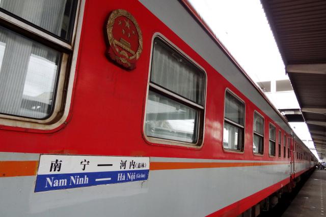 Aumentan viajes de pasajeros por tren internacional China-Vietnam