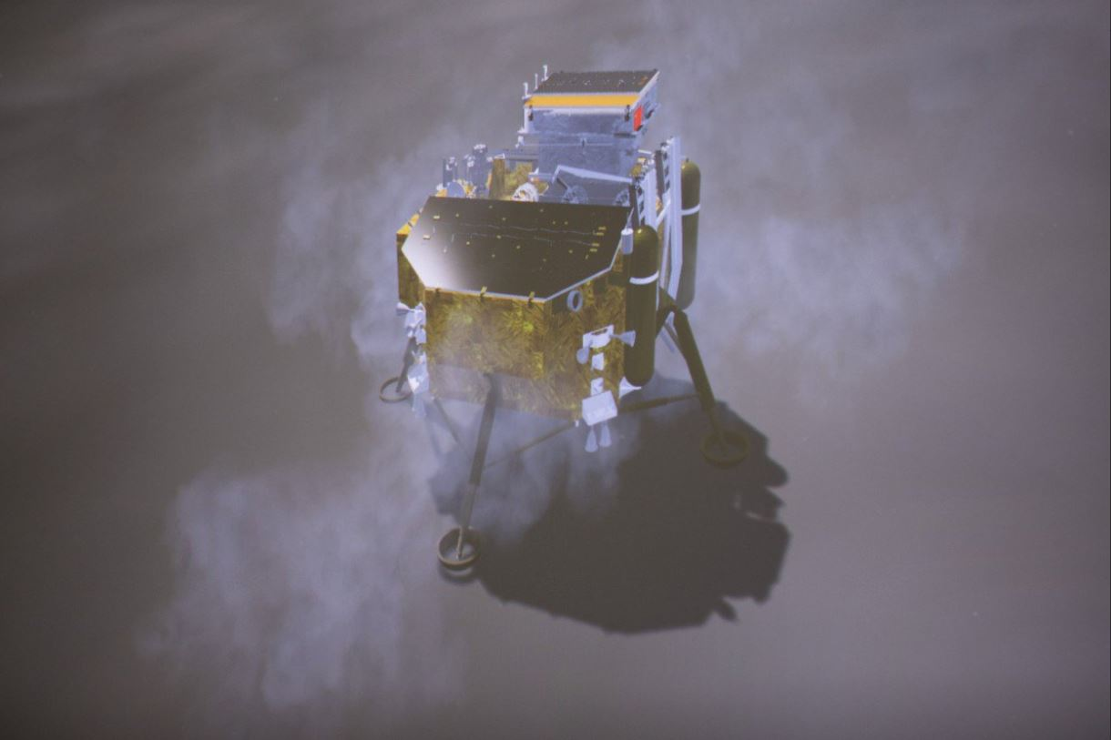 Equipos internacionales en sonda espacial china Chang'e-4 inician sus operaciones